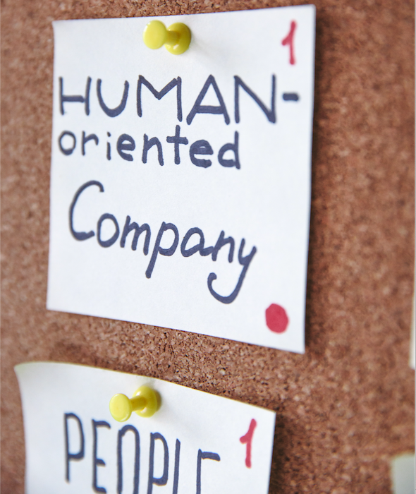 Company sticky notes